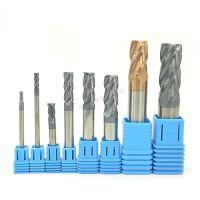EDVT钨钢铣刀55度硬质合金进口2刃4刃钨钢刀cnc数控刀具直柄立铣刀