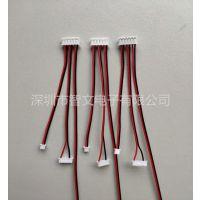 生产加工PH2.0-6P TO 1.25mm PVC端子线 小板连接线 机内线束