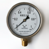 YN-100BF上海正德不锈钢耐震压力表