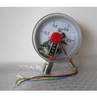 德胜YAXC-150氨用电接点压力表φ150量程-0.1-0.3MPa放心的