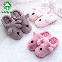 2018年冬季新款韩版兔子女包根棉拖鞋 防滑室内棉鞋厂家直销批发