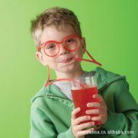 供应快乐大本营 谢娜 张杰 搞怪眼镜吸管 Drinking Glasses