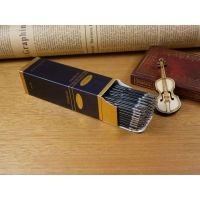 厂家定制白卡纸包装盒外贸纸盒中性笔纸盒印刷定制