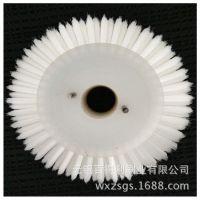 专业制作塑料圆盘刷 尼龙丝毛刷  塑料丝毛刷 来图可定制厂家直销