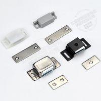 索科斯HMEN-T2 自动化设备门磁力扣电器电柜门磁吸工业门吸箱柜体门碰加厚强力侧吸强力树脂塑料方形