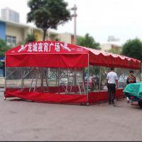 活动伸缩式雨棚定做厂家价格多少钱?
