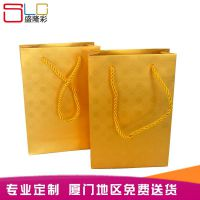 高档手提袋定做烫金纸袋服装礼品包装袋牛皮纸白卡印刷LOGO纸盒