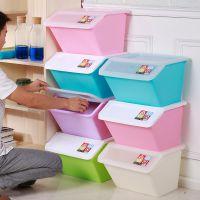 收纳箱侧开门特大号塑料盒透明翻盖式衣服储蓄侧开口式加厚装玩具