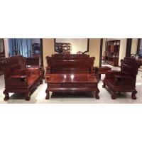 名琢世家刺猬紫檀客厅古典组合皇冠沙发8件套价格