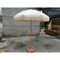 专业定制流苏太阳伞、户外遮阳伞