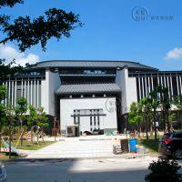 世界客商中心(木纹铝单板、铝方管案例)
