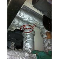 供应工程机械排气管隔音罩;柴油机隔热套;重庆天津福建排气管隔热