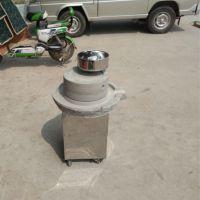 小型电动豆腐石磨 超市粮油店芝麻酱豆浆石磨多用途米浆加工设备