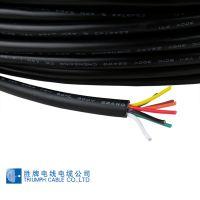 多芯线源头厂家直售UL2464-26A3芯 规格7/0.127TS 耐温80°C 外径3.0