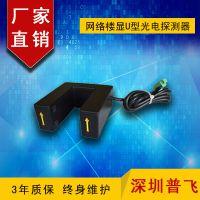 普飞研创 网络楼显探测器 感应器 U型光电磁条