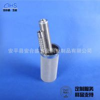 厂家销售耐高温耐氧化滤芯 机械设备烧结滤芯 耐碱不锈钢过滤材料