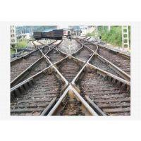 厂家供应铁路双开道岔 交叉渡线、菱形、对称道岔规格齐全