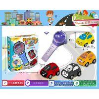 新款儿童玩具  迷你红外线手表  声乐闪光遥控卡通小汽车