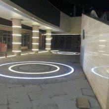 LED广场地灯 发光地砖灯 物美价廉 led弧形砖灯定制
