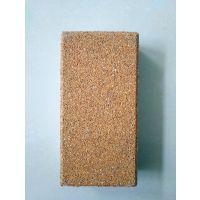供应陶瓷透水砖 海绵城市专用透水砖 纯陶瓷颗粒烧制