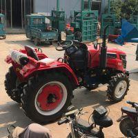 多档位四轮拖拉机 低矮果园多功能四轮旋耕机 工作效率高的拖拉机