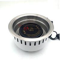 红外线电烤炉无烟上排烟商用镶嵌电烤炉韩式自助烤肉锅电