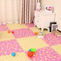 婴儿童拼接爬行垫泡沫拼图地垫家用卧室榻榻米地板垫子60x60加厚