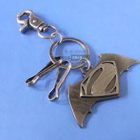 定制复古钥匙扣 锌合金电镀卡通钥匙扣 超人归来纪念礼品赠品