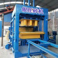 桂林旅游景区路面生态海绵透水砖机 液压检查井免烧砖机 砌块砖机