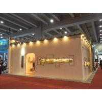 广州高端木质展架制作厂家 木展台现场安装制作厂家