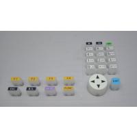 丝印喷涂硅胶按键 导电丝印硅胶按键 喷涂镭雕硅胶按键