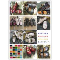 加工女鞋广州鞋厂来样来图加工定制各类圆头漆皮欧美真皮玛丽珍女鞋
