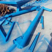 双出料口垂直加料机 圆筒式粉料输送机 有轴送料绞龙