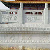 厂家定做雕花青石栏杆 古建寺庙栏杆护栏 量大优惠