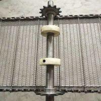 食品加工行业输送不锈钢网链 涂装设备耐温耐磨链条式不锈钢输送带