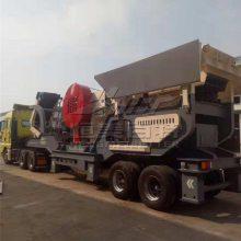 山东建筑垃圾再生处理设备 移动建筑垃圾破碎站厂家