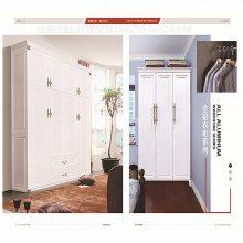 厂家供应全铝衣柜鞋柜酒柜 欧式铝合金铝型材全铝家具型材
