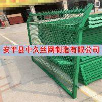 高速公路护栏网 果园用网 带框护栏网园林养殖场圈地浸塑护栏网