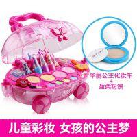 儿童化妆品玩具玩玩具真的公主女孩子娃娃女生化妆品姐姐和小玲