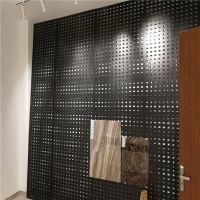 创意设计瓷砖展板 600 300陶瓷孔板展柜 泰安市大理石洞洞板展具