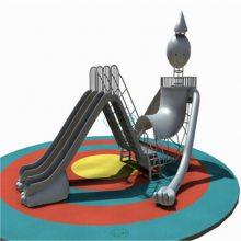 304不锈钢螺旋滑梯室内逃生通道户外景区七彩滑梯幼儿园室外儿童乐园可加工定做