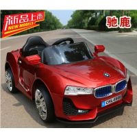 新款儿童电动汽车四轮带遥控充电可坐人电动车摇摆玩具车