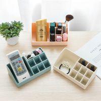 2707 抽屉分隔收纳盒 桌面塑料化妆品整理盒厨房餐具小盒子收纳格