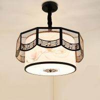 现代新中式吊灯中国风仿古书房客厅灯古典卧室餐厅灯简约创意灯具