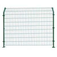 联利供应山东公路护栏网 包胶钢丝网片 临时围挡