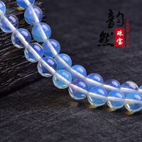 韵然 批发蛋白石散珠饰品配珠 diy手链半成品配件 手工材料珠子