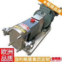 xhb80转子泵 不锈钢内环式高粘度泵 合成革输送泵 星玖