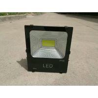 特价包邮LED投光灯100w工矿投射灯室户外防雨水广告工厂车间西安