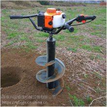 芜湖单人手提挖坑机 东北冻土钻坑机速度快