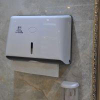 擦手手巾卷纸架置物架厕所放厕纸盒挂壁式商场擦酒店纸抽纸盒卫生